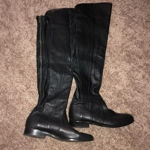 H by Halston Shoes - H by Halston Leather Boots